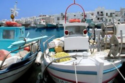 Paros Main Port (Cyclades)